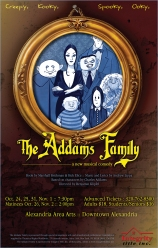 Addams Family Musical Poster Art (with licensed show icon)