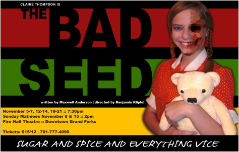 Poster Artwork for The Bad Seed