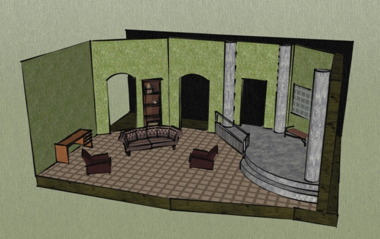 Set Design for The Bad Seed