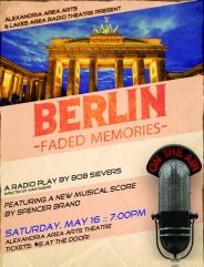 Berlin Faded Memories Radio Play Poster Art
