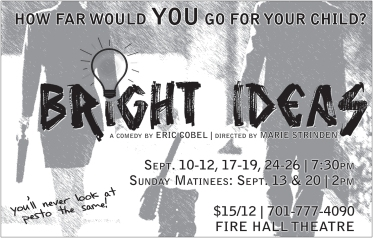 Poster Artwork for Bright Ideas