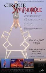 Poster Artwork for Cirque Symphonique