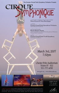 Poster Artwork for Cirque Symphonique