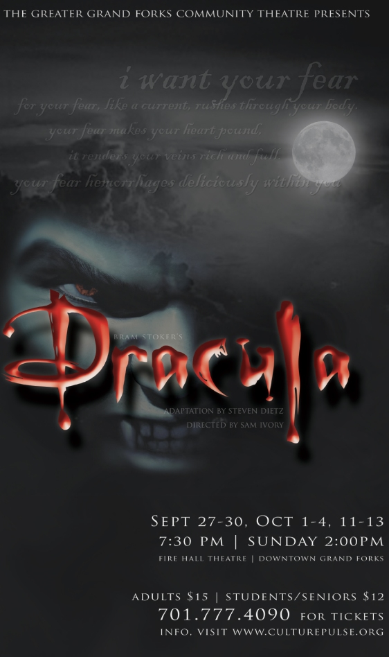 Poster Artwork for Dracula