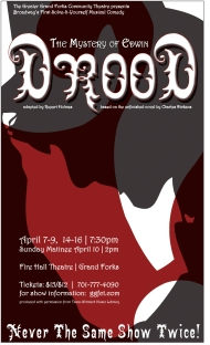 Poster Artwork for The Mystery of Edwin Drood