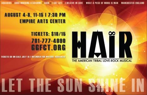 Poster Artwork for HAIR