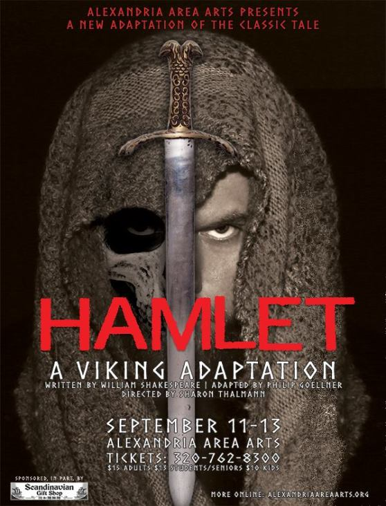 Hamlet: A Viking Adaptation Poster Art