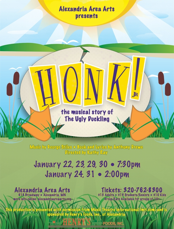 Honk, Jr. Poster Art