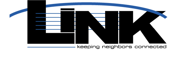 Logo Design for The Link, a community collaborative effort to link various historic downtown neighborhoods in Grand Forks, ND