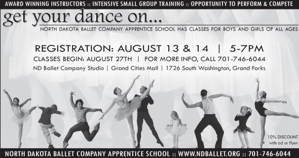 Advertising artwork for Ballet Apprentice School