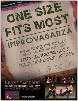 New Year's Improv Show Poster Art