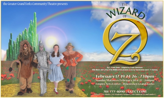 Poster Artwork for The Wizard of Oz