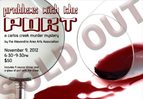 Murder Mystery Facebook Graphic