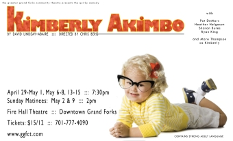 Poster Artwork for Kimberly Akimbo