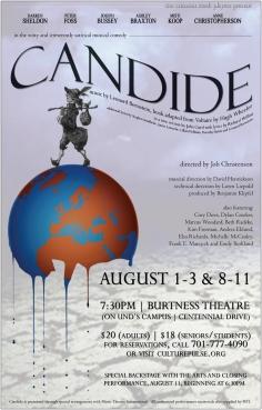 Poster Artwork for Candide