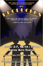 Poster Artwork for The Producers