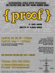 Poster artwork for PROOF