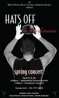 Poster artwork and photography for Fosse Concert