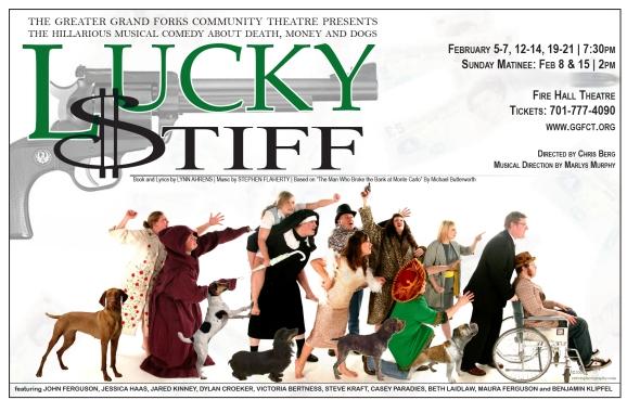 Lucky Stiff Poster Art