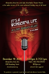 It's A Wonderful Life Radio Play Poster Art